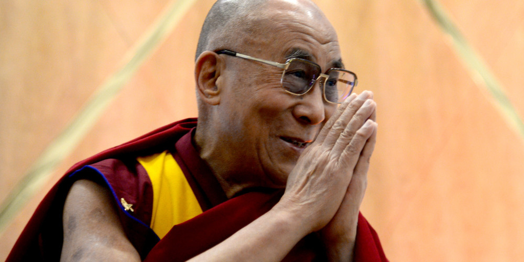 His Holiness the 14th Dalai Lama Appears At A Q&A With Ann Curry Courtesy Of The Lourdes Foundation